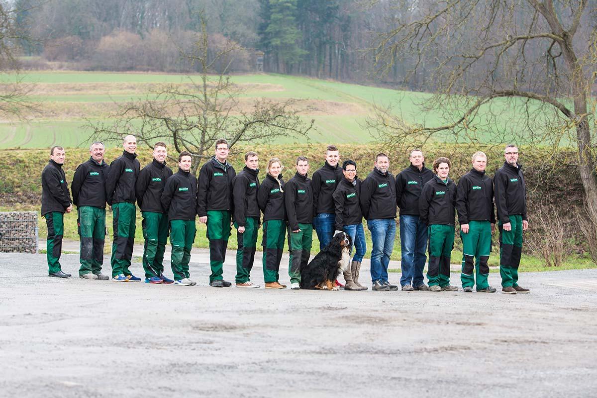 Unser Team Mockler Garten Und Landschaftsbau Gmbh